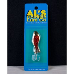 Al's Goldfish - 1/4oz ~ Gold Prism Red