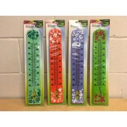 "Jumbo Printed Plastic Thermometer - 15.75"""