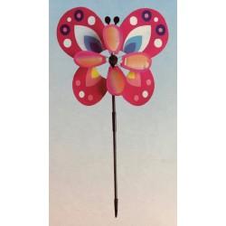 "Spring Butterfly Pinwheel ~ 26.5"""