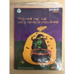 Halloween Lawn Leaf Bag ~ Witch Design