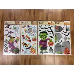 Halloween Wall Peel-N-Stick Decorations