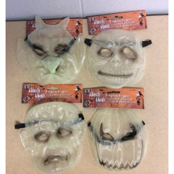 Halloween Glow-in-the-Dark Masks
