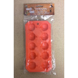 Halloween Pumpkin Shaped Ice Cubes Tray