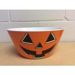 """Halloween Melamine Pumpkin Round Bowl ~ 10"""" D"""