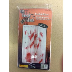"Halloween Bloody Shower Curtain ~ 70"" x 72"""