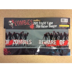 Halloween Zombie Fright Tape ~ 20'