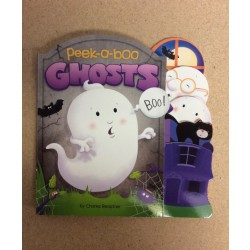 Halloween Peek-A-Boo Ghosts Die-Cut Board Book
