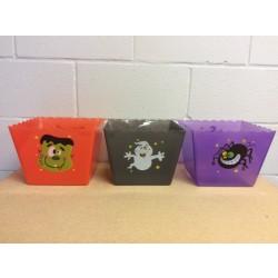 "Halloween Square Bowl ~ 8.75"""
