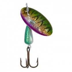 Panther Martin Lure - Size 4 ~ Holographic Tiger Green