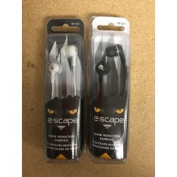 Noise Reduction Earbuds ~ Black or White