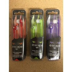 Noise Reduction Earbuds ~ 3 assorted colors