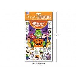 Halloween Stickers & Album ~ 50 pieces