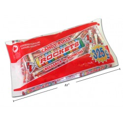 Halloween Rockets Candy Rolls ~ 325gram bag