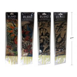 Halloween Fake Tattoo Sleeve ~ 2 pieces per pack