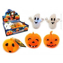 Halloween LED Puff Pumpkin / Ghost Characters ~ 12 per display