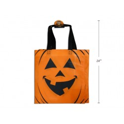 "Halloween Printed Non-Woven Trick or Treat Bags - 22""W ~ 2 per pack"