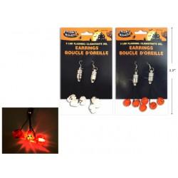 Halloween LED Flashing Earrings