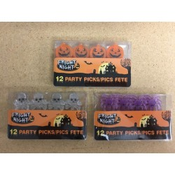 Halloween Picks ~ 12 per pack