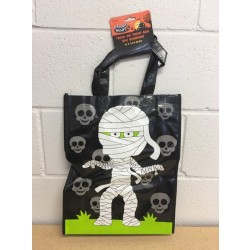 "Halloween Coated Non-Woven Printed Trick or Treat Bag ~ 16""L"
