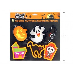 Halloween Cookie Cutters ~ 6 per pack