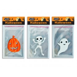 Halloween Self Sealing Cello Candy ~ 15 per pack