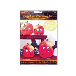 Halloween Foam Sticker Pumpkin Decorating Kit