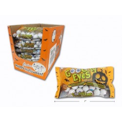 Halloween Double Crisp Goog-ly Eyes Chocolate Balls ~ 142gram bag