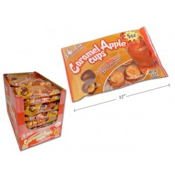 Halloween Palmer Caramel Apple Cups ~ 142gram bag