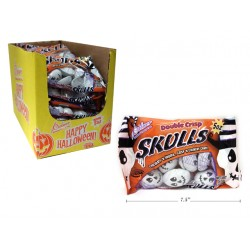 Halloween Palmer Double Crisp Skulls ~ 142gram bag