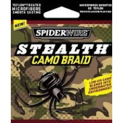 SpiderWire Stealth Camo Braid Fishing Line ~ 30lb