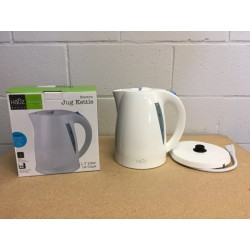Electric Jug Kettle - White ~ 1.7L / 12 Cups