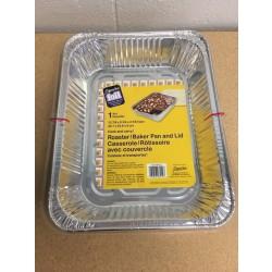 Foil Roaster / Baker Pan w/Lid