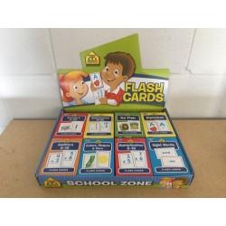 School Zone Flash Cards
