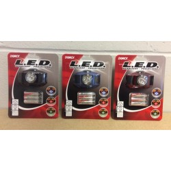 Dorcy LED Headlight w/3 color lights