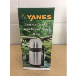 Yanes Insulated Stainless Steel Wide Mouth Thermos ~ 800ml