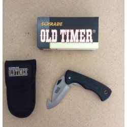 "Shrade Old Timer Series Folding Knife w/Gut Blade ~ 3.5"" Blade"