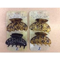 Naturals Hair Clip ~ 2 per pack