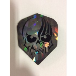 Dartworld Broken Glass ~ Skull Face