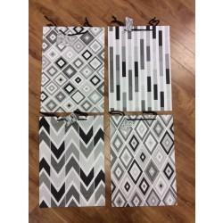 Jumbo Gift Bags ~ Black & White
