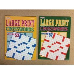 Crossword Books ~ Large Print