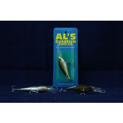 Al's Goldfish Dilly Diver - 1/4oz ~ Golden Shiner