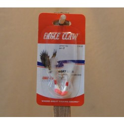 Eagle Claw Shad Darts - 1/16oz ~ Red / White