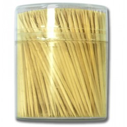 Wooden Toothpicks w/Holder ~ 500 per pack
