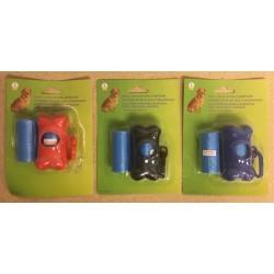 Plastic Bone Shaped Waste Bag Dispenser & Bags