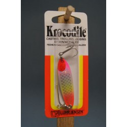 Krocodile Lure - 1/4oz ~ Rainbow Holographic Scale