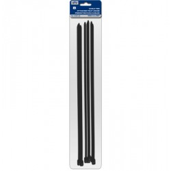 "Cable Ties - Black ~ 500mm/20"" - 8/pk"