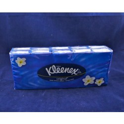Kleenex Pocket Tissues ~ 10 packs per package