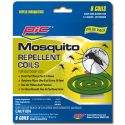 PIC Mosquito Coils ~ 8 coils per pack