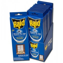 RAID Window Fly Traps ~ 4 per pack