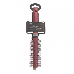 Hair Brush ~ Round Brush w/plastic bristles
